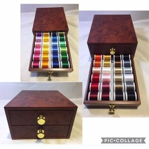 Madeira Mini Treasure Rayon Thread Sewing Chest